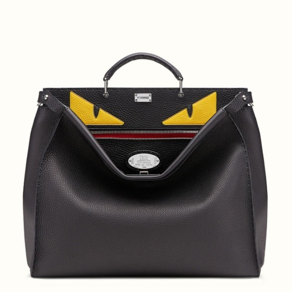 f0a89dc447fe Fendi Other - Black Fendi peekaboo Men s Briefcase